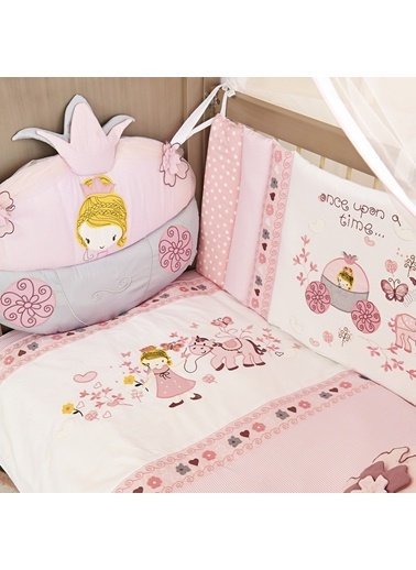 Princess Home Uyku Setı 8 Parça (80X140)-Aybibaby
